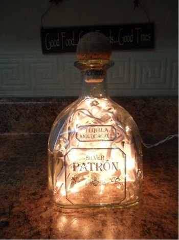 10 Things To Do With A Leftover Liquor Bottle Alcohol Bottle Crafts Liquor Bottle Crafts Diy Bottle