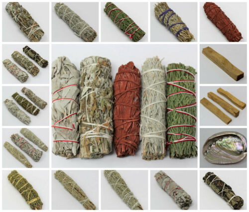 Smudge Sticks Choose Type Amount White Sage Palo Santo Many More Ebay Smudge Sticks Smudging Palo Santo