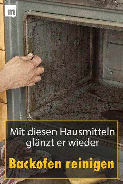 backofen reinigen hausmittel die den ofen wieder zum gl nzen bringen putzen pinterest. Black Bedroom Furniture Sets. Home Design Ideas