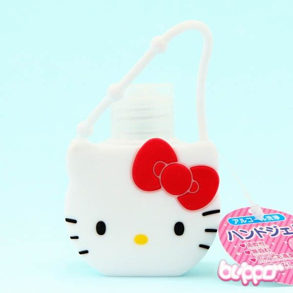Hello Kitty Mini Hand Sanitizer Bottle Hello Kitty Mini Hands