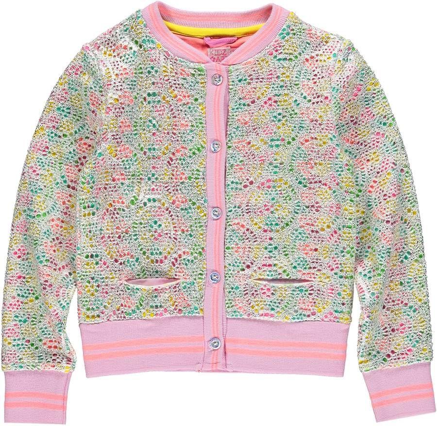 Kidz-Art feestelijk vestje lace all over