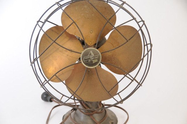 Vintage Emerson Electric Fan Via Etsy Vintage Fans Emerson
