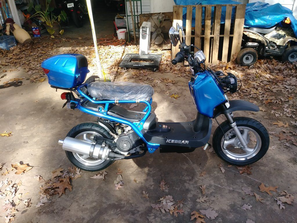 Bandit PMZ50-1- by Ice Bear 49 5cc moped scooter $1199 00