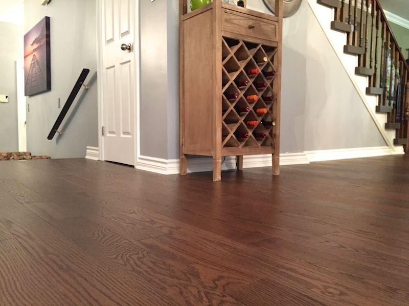 4 1 4 Quot Mambo Red Oak Wirebrushed Hardwood Solid Hardwood