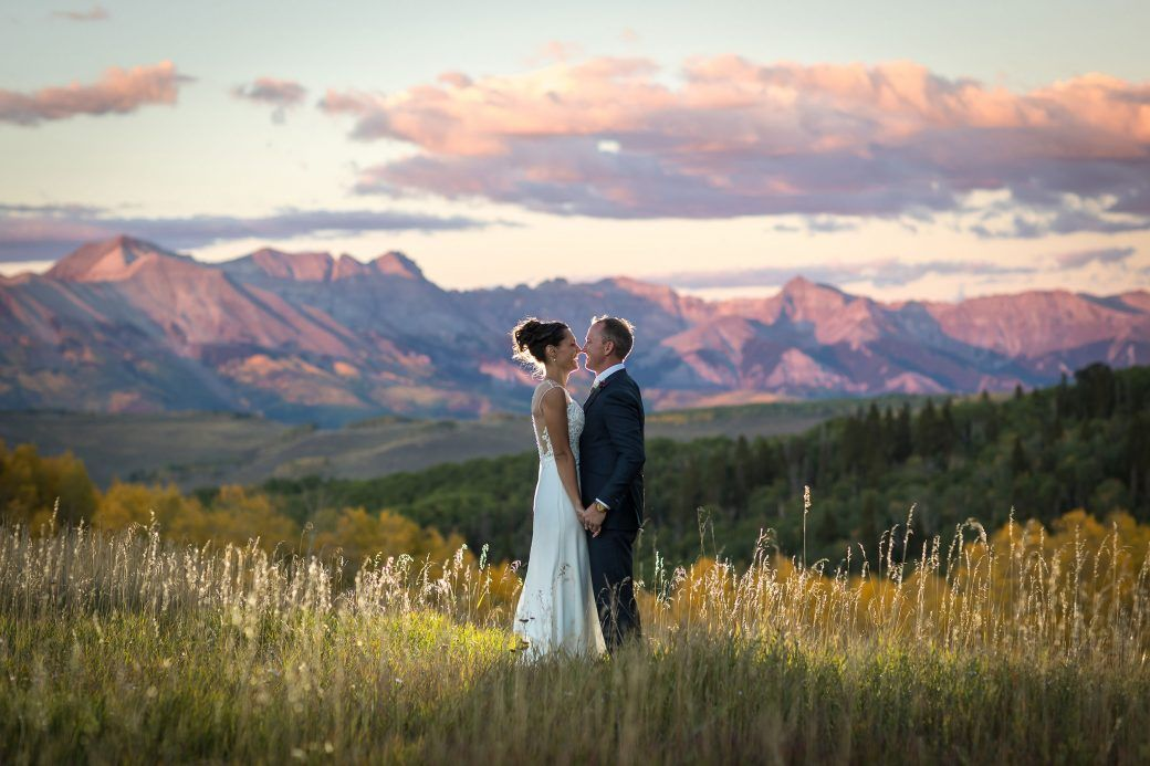 An Autumn Mountain Wedding In Telluride Mountain Wedding Colorado Mountain Wedding Photos Fall Mountain Wedding