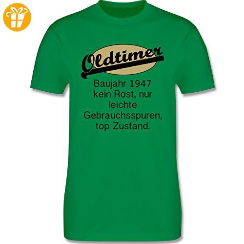 Geburtstag - 70. Geburtstag Oldtimer Fun Baujahr 1947 - L - Grün - L190 -