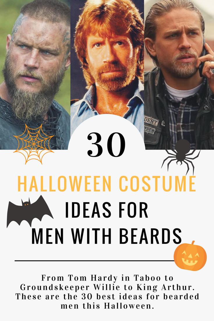 30 Best Halloween Costume Ideas For Men With Beards