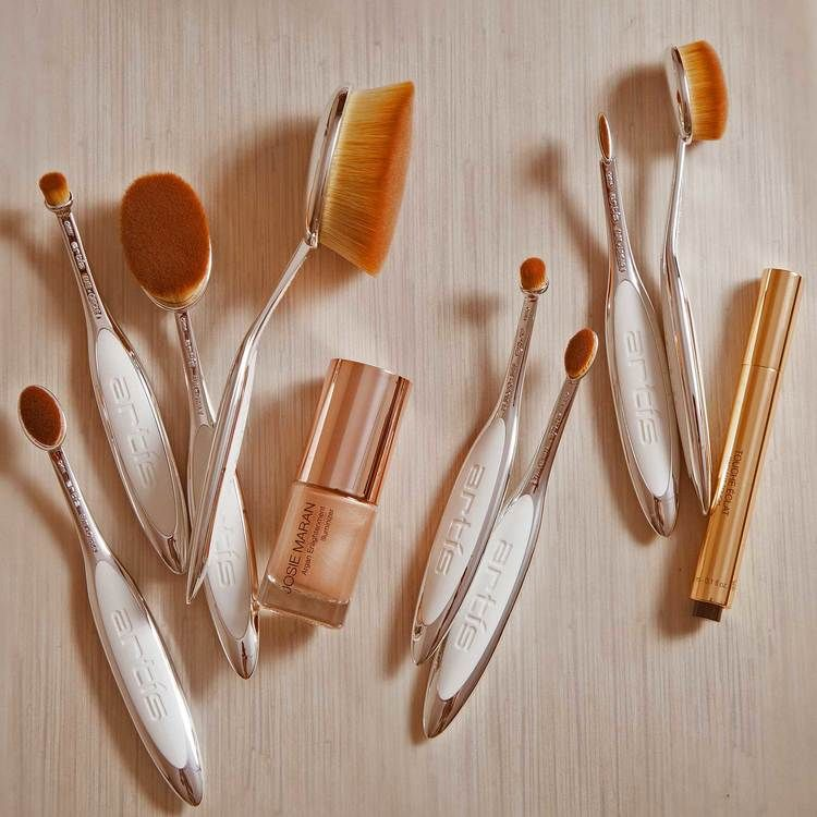 artis brushes gold. artis makeup brushes \u2014 elite mirror collection shop gold