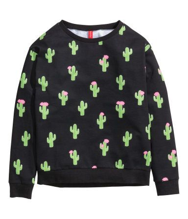 ee7d6e80f0 cactus sweatshirt from h m  9.95