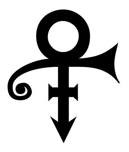 Socool Prince Logo Vinyl 4 Tall Color Purple Deca 1 And