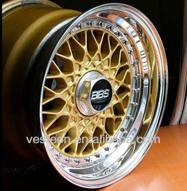 Good quality 15'',16'',17''18''inch replica bbs wheels