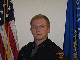 Trooper Trevor Casper - 21-year-old Casper was killed last Tuesday
