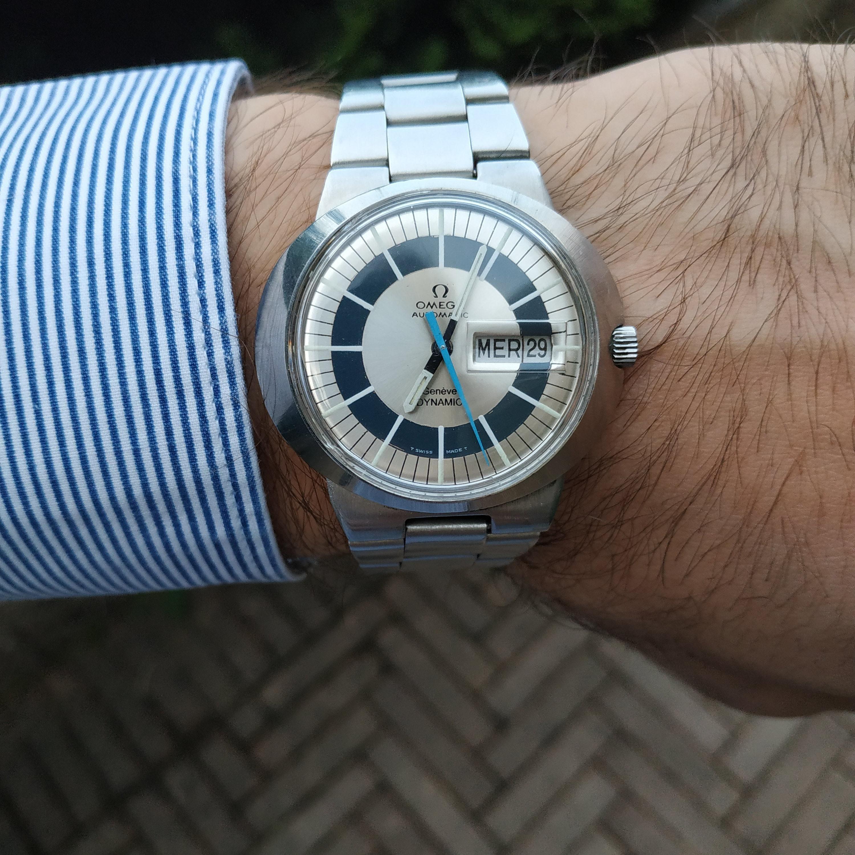 Omega Geneve Dynamic I Wristwatch Fashion Vintage Watches Omega Geneve
