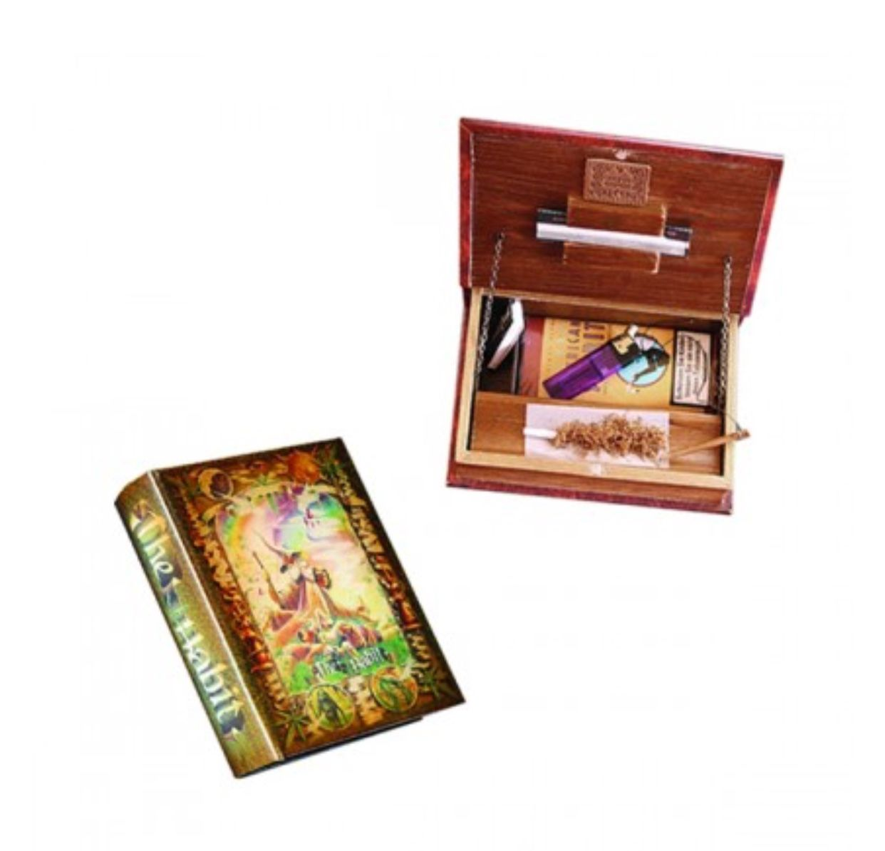 Original Kavatza The Habit Roll Book and Stealth Stash