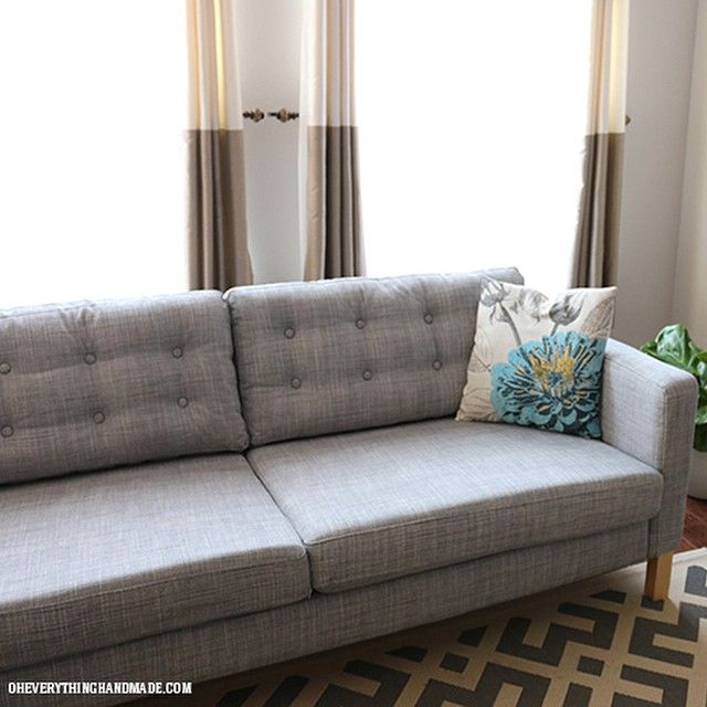 15 Ikea Hacks To Diy Your Apartment Into Hood Shabby Hack And Tufted Couch