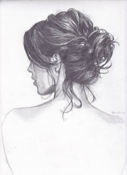 Girl Back Hair