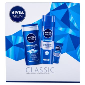 NIVEA MEN® Classic Gift Set £5.75… | NIVEA | Pinterest | Gift sets ...