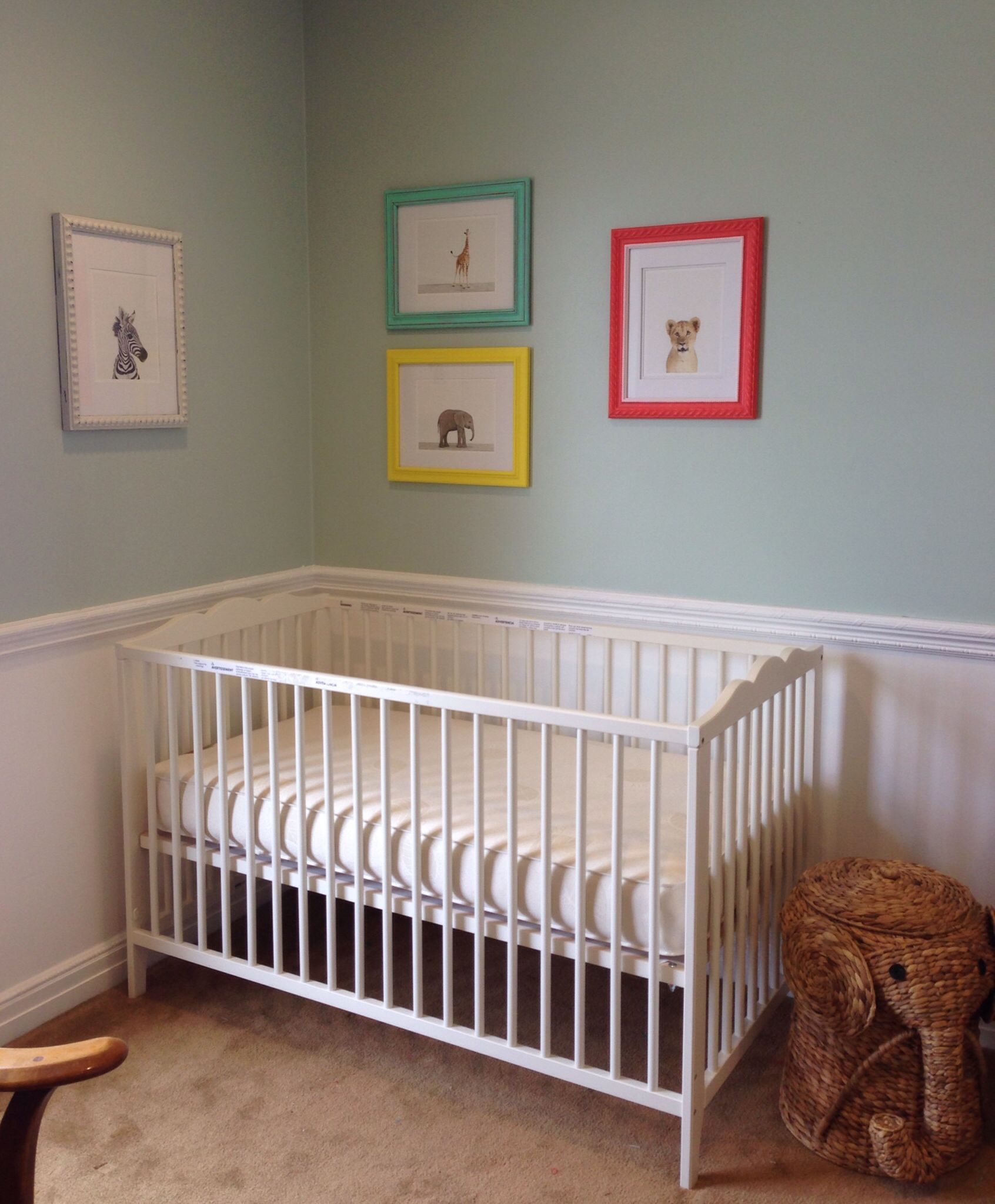 My Baby Nursery Framed Art Baby Animal Prints From #Theanimalprintshop
