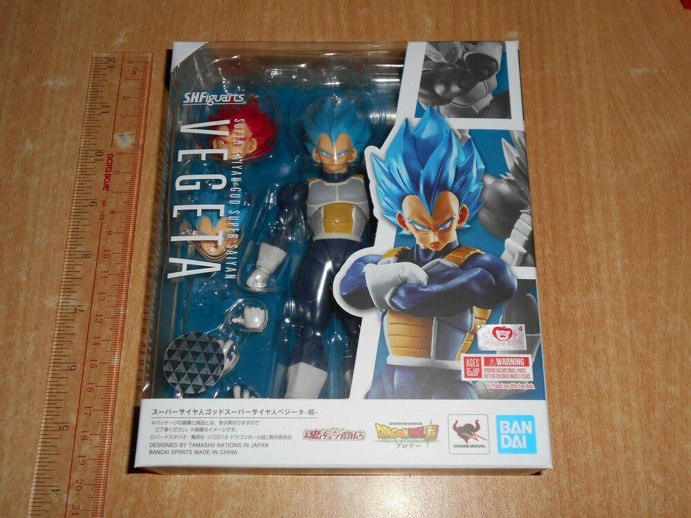 SHF />**Bandai SH Figuarts DragonBall Super Movie Broly God SSGSS Vegeta Limited