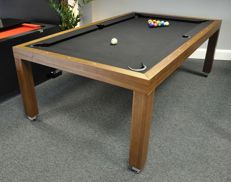 Aramith Fusion Pool Dining Table In Wood   7.5ft
