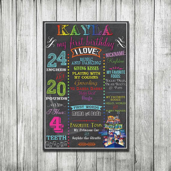 Hey, I found this really awesome Etsy listing at https://www.etsy.com/listing/179275204/rainbow-personalized-birthday-boards