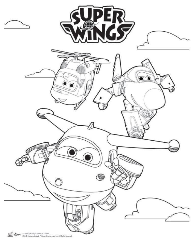 Pin de janete rufino de souza em super wings pinterest for Super wings coloring pages