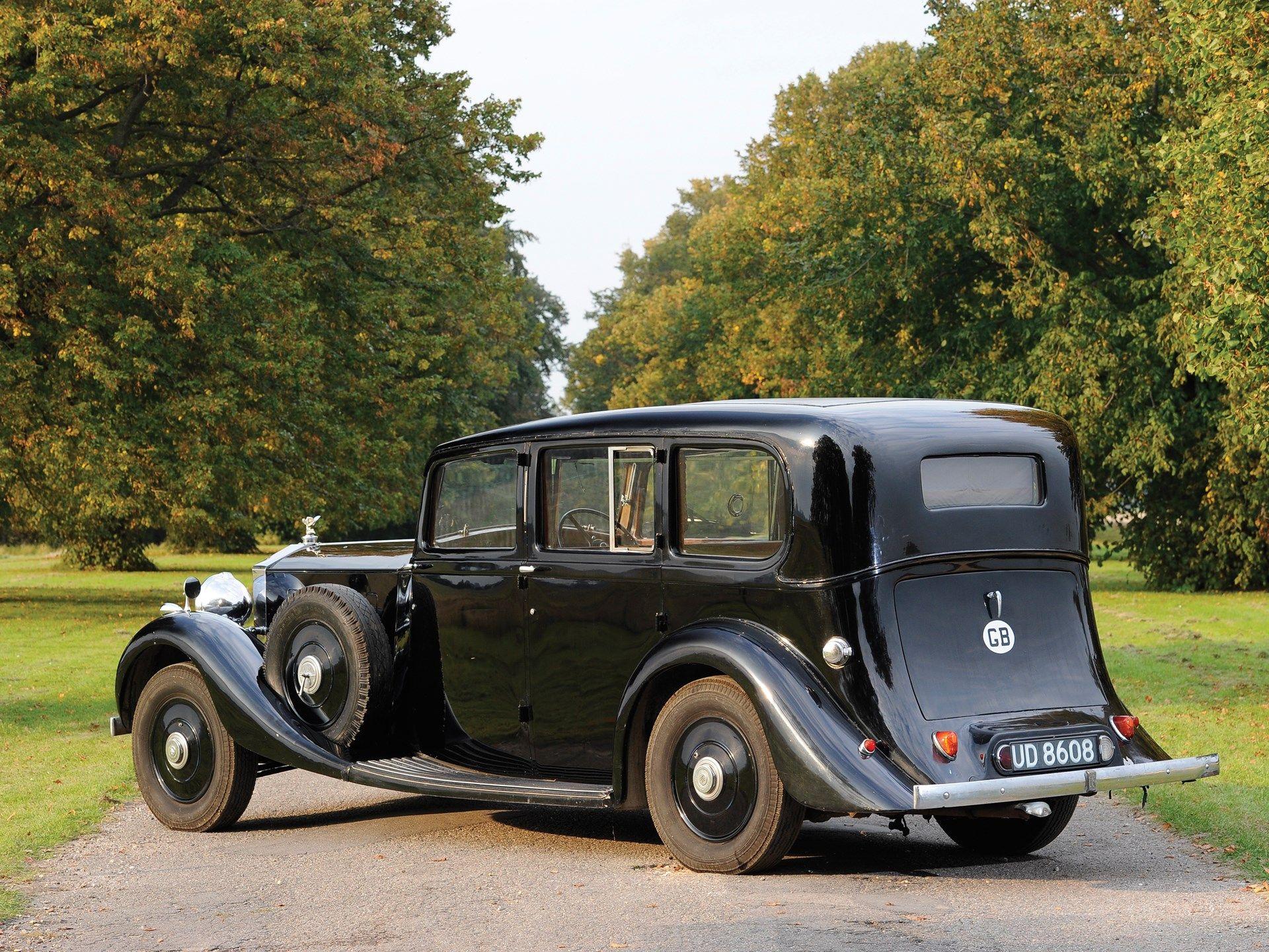 1937 Rolls Royce Phantom Iii Limousine Rolls Royce Classic Cars