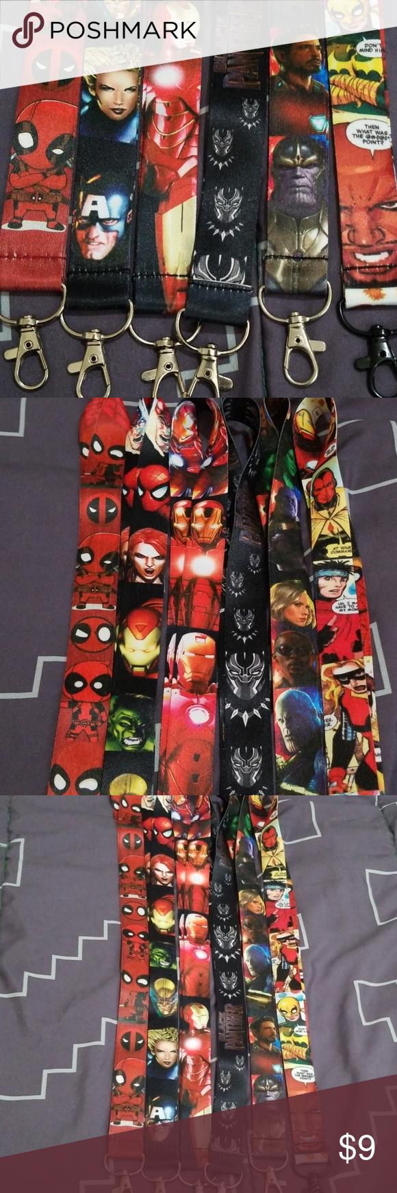 Iron Man Lanyard Clothes Design Fashion Design Superhero Comic