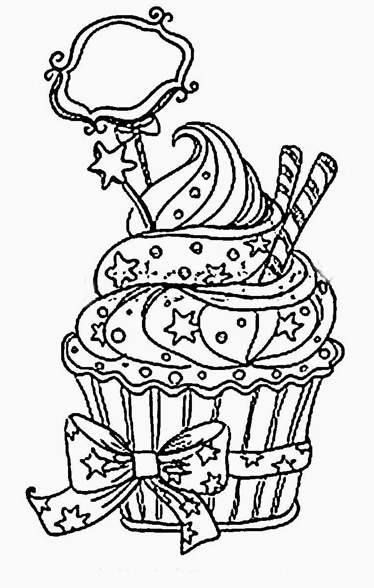 Cupcakes Sorvetes Bolos E Doces Cupcakes Ice Creams Cakes And Sweets Desenhos Para Colorir Livros De Colorir Para Adultos Desenhos Para Imprimir