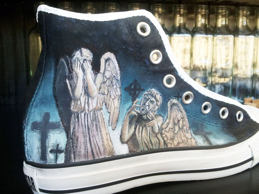 0358a9ac2b8c4 Doctor Who Weeping Angels Background | Dr Who Shoes - Weeping Angels ...