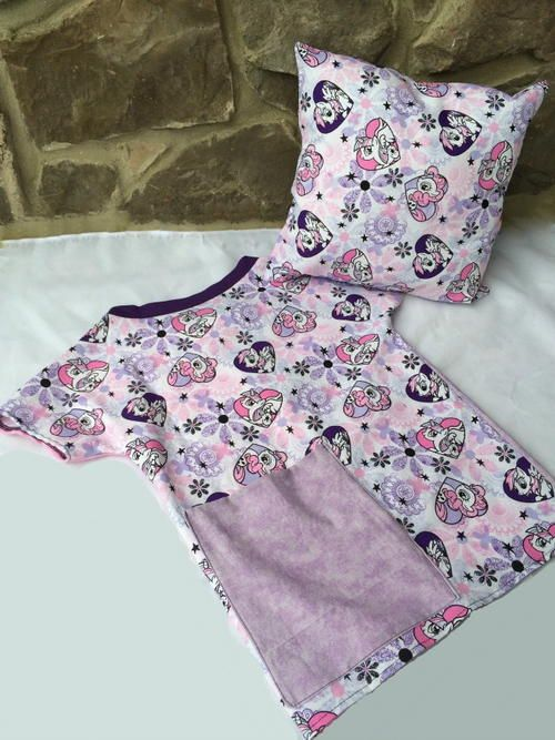 Easy Hospital Gown for Toddlers