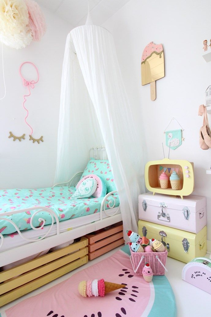 Kidsdesignlife blog pinterest unicornio unicornios y for Decoracion de cuartos para 2 ninas