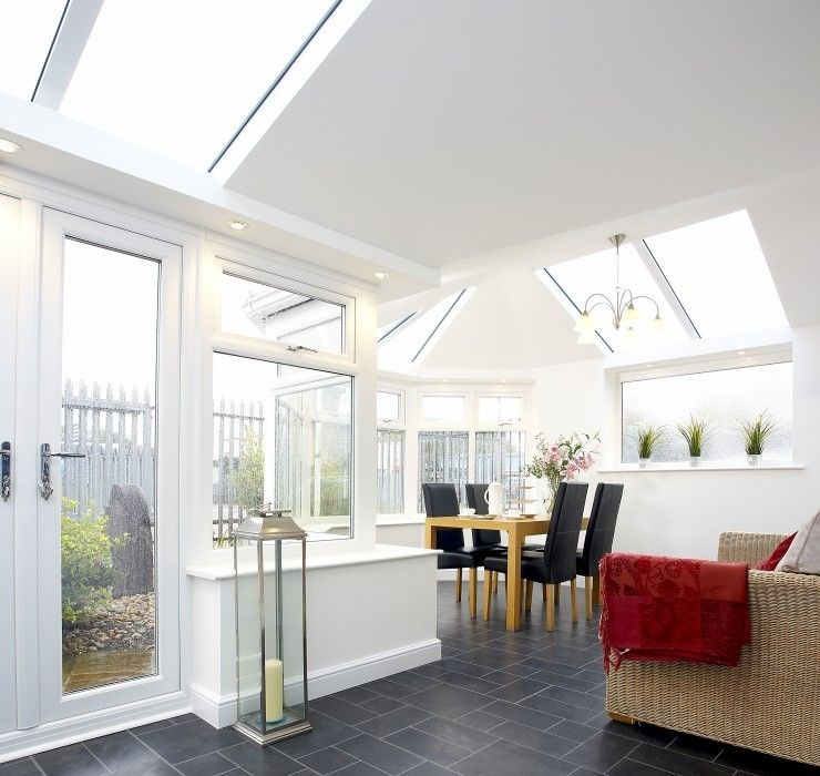 Hybrid Roof Solid Roof Conservatory Roof Conservatory Interior Living Room Extension Ideas Conservatory Interiors