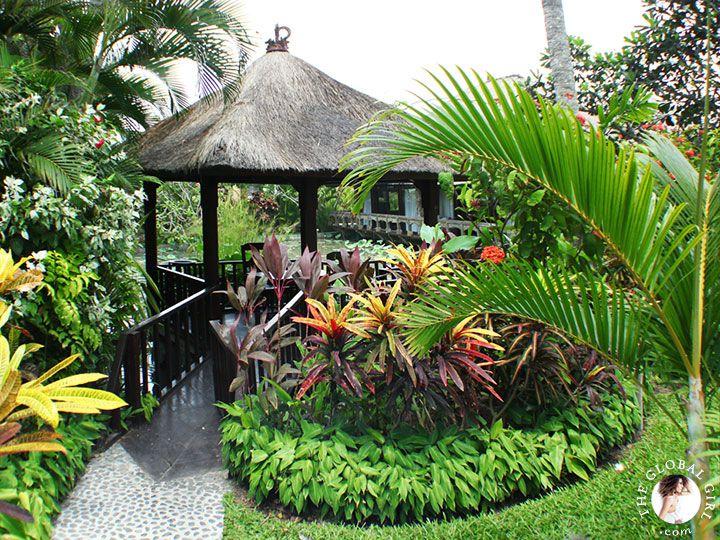 The global girl travels a magical bali getaway set for Garden getaway designs