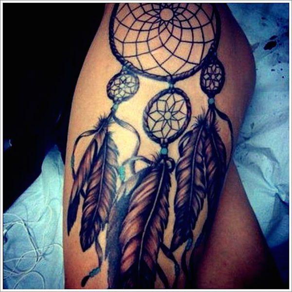 166 Dreamcatcher Tattoos For A Good Night Sleep Tatouage