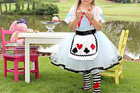 Alice in Wonderland costume 18 month Alice in Wonderland Birthday - 18 month halloween costume ideas