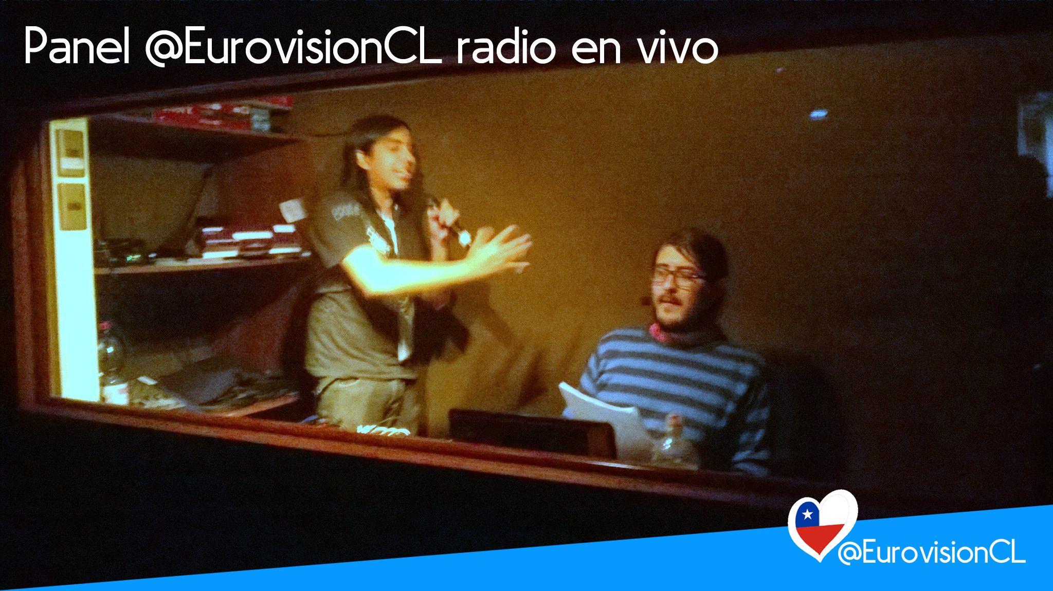 @EurovisionCL radio en vivo desde el fanfest en Stgo. #ESCSTGO2016