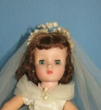 Vintage Madame Alexander Elise Bride Doll - 1950's ORIGINAL PRETTY GOWN #bridedolls