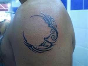 Tatuajes De La Luna  Fotos Diseños Dibujos Y Entretenimiento