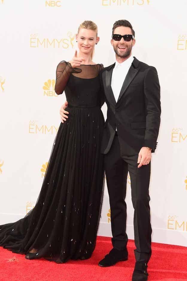 Adam Levine - 66th Emmy Tux
