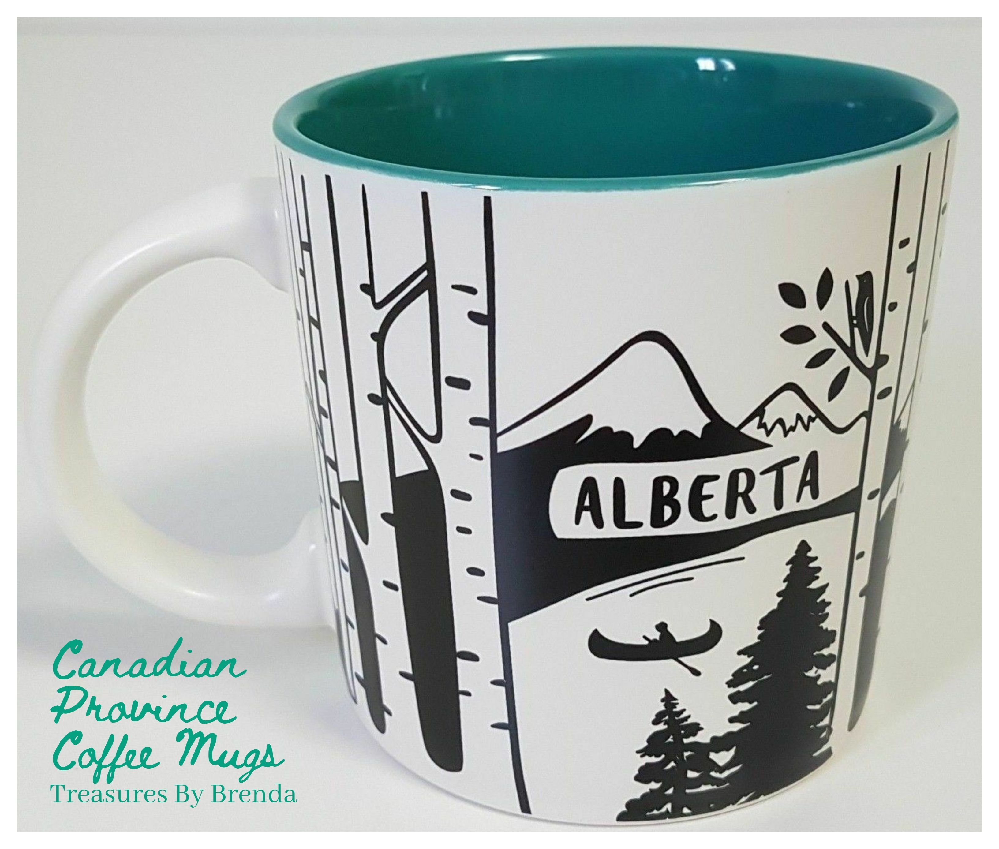 Canadian Province Coffee Cups Alberta in 2020 Tim