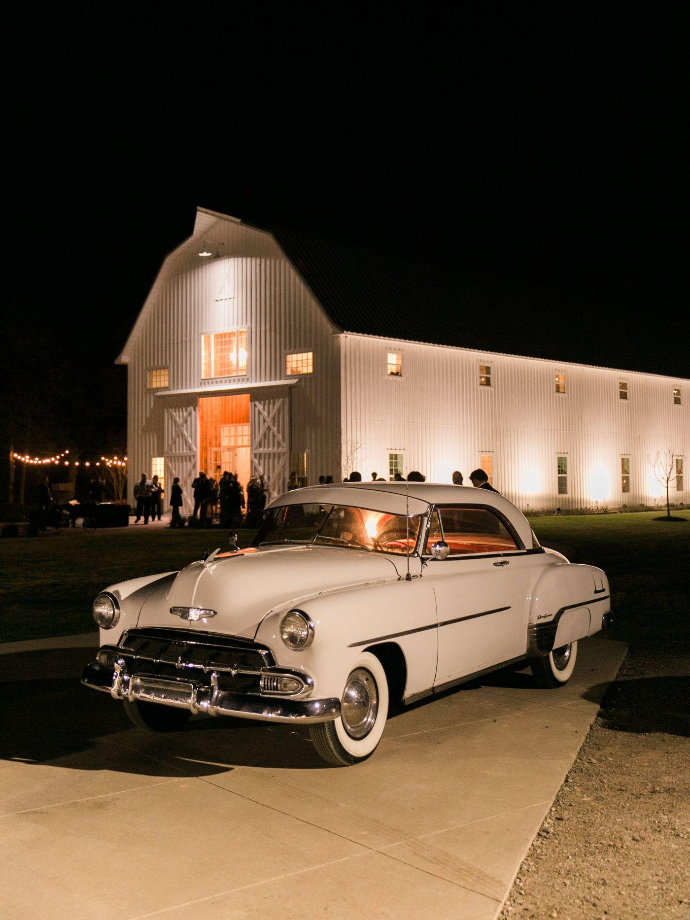 The White Sparrow wedding venue, white barn venue in Texas