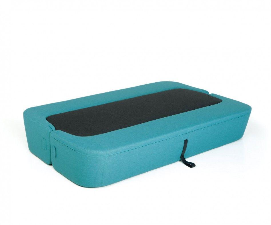 Farbkombinationen Blau Grau: Prostoria Schlafsofa Revolve