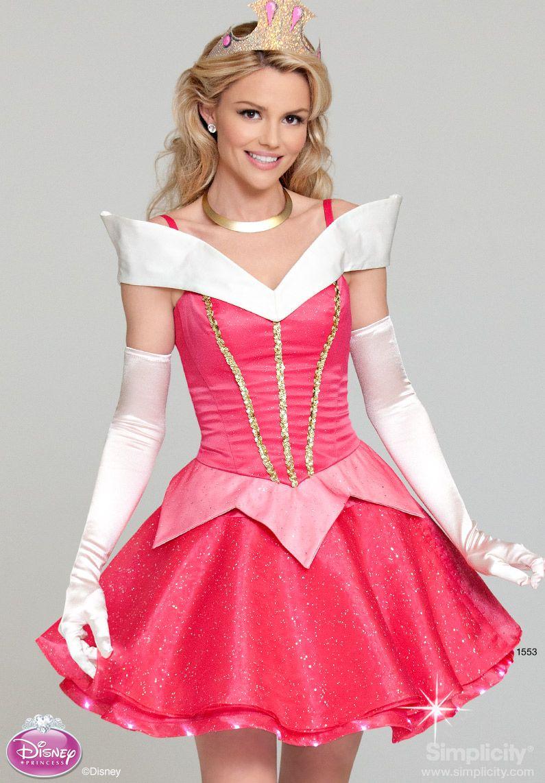 Simplicity Creative Group - Misses' Disney Princess Costume 1553 ...