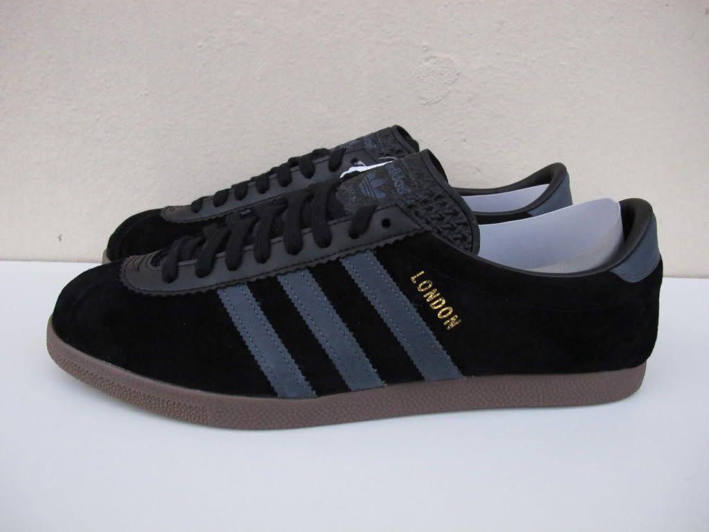 adidas london shoes black