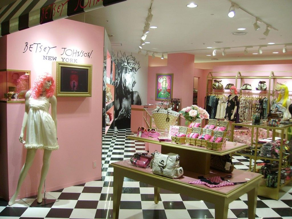 Betsey Johnsonthis Store Makes My Heart Happy Store
