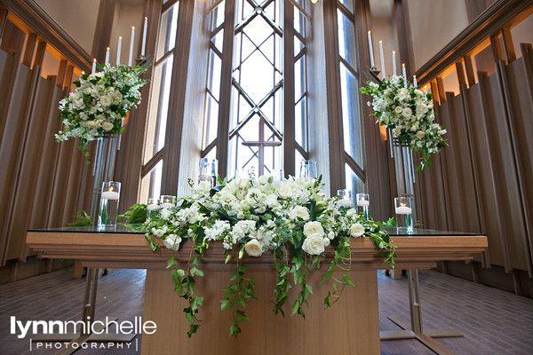 Angela Spencer Wedding Lynnmichelle Church Flowers Altar Flowers Wedding Church Wedding Flowers