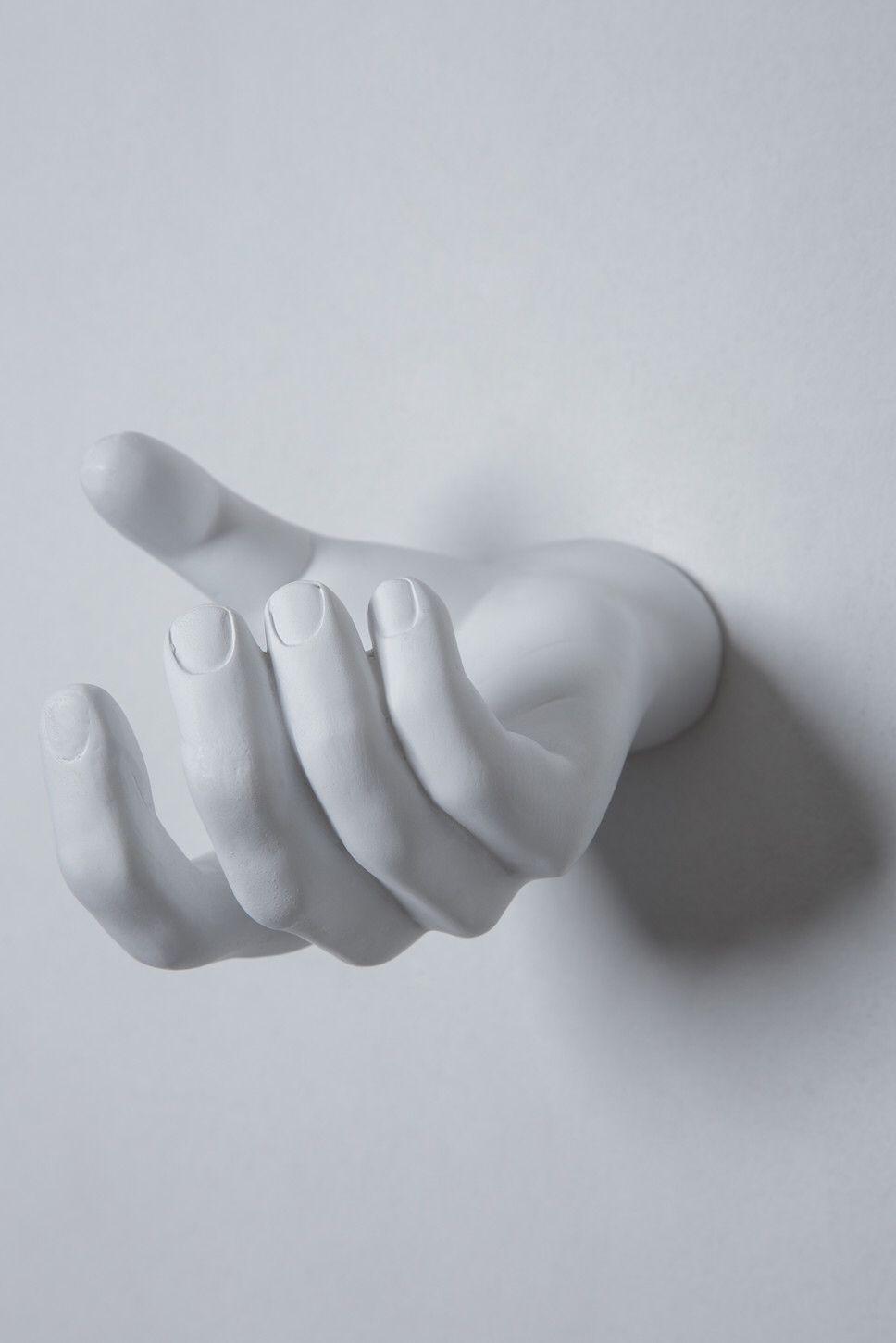 Hand Grabbing Wall Hook Modern Wall Hooks Hand Sculpture Wall