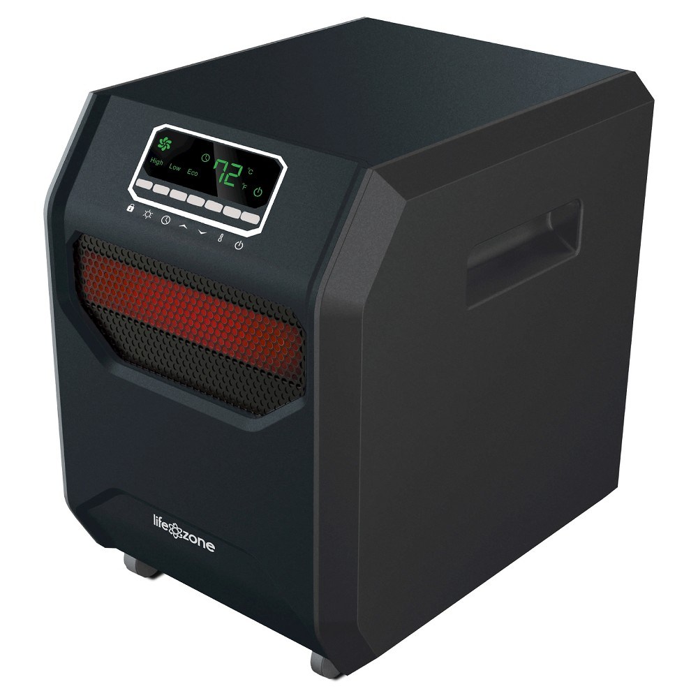 Lifesmart Zone Series Six Element Infrared Heater Black