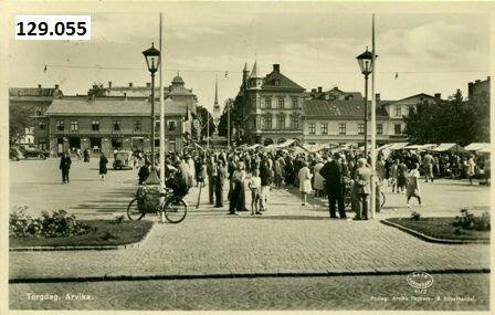 Arvika torgdag 1920/30-tallet